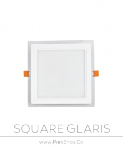 چراغ گلاریس مربع